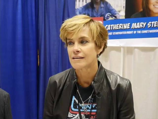Watch Interview With Catherine Mary Stewart At Indy