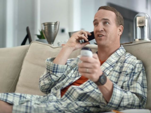 watch  peyton manning stars in 3 new commercials