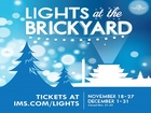 Lights at the Brickyard opens to public Friday