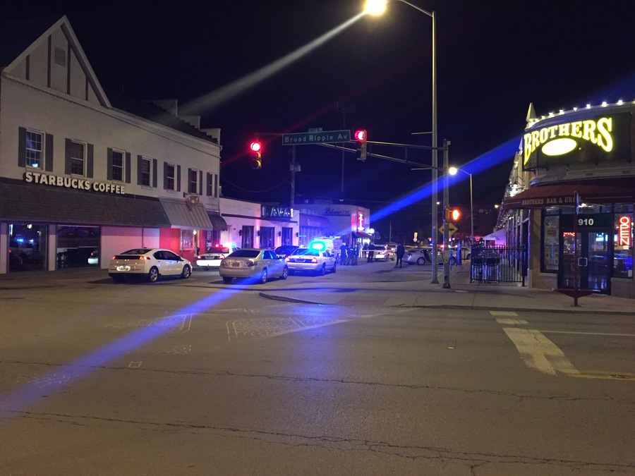 1 Dead 1 Hospitalized In Broad Ripple Shooting Theindychannel Com Indianapolis In