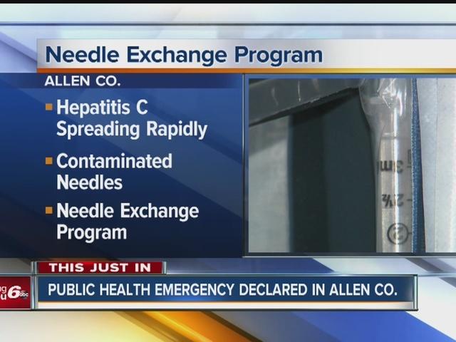 the needle exchange program