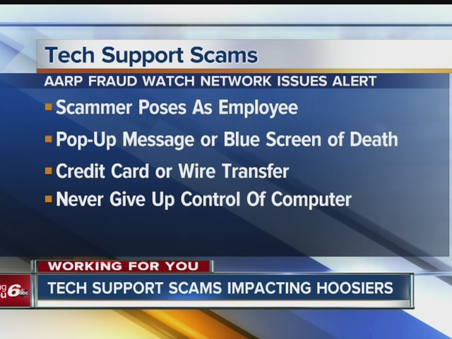 CALL 6: Don\'t fall victim to tech support scam - TheIndyChannel.com ...