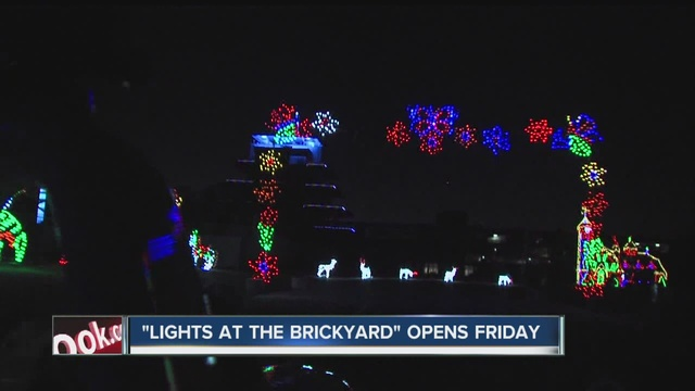 first look indianapolis motor speedways newest event lights at the brickyard - Christmas Lights Indianapolis
