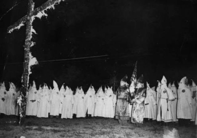the salem witch hunts and the ku klux klan a history of racism