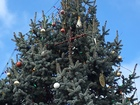Star replaces cross on Knightstown tree