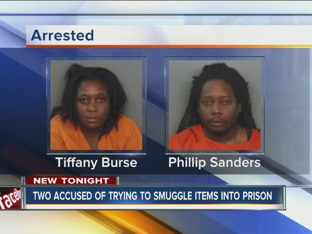 Police: Two people arrested for trying to toss contraband ...
