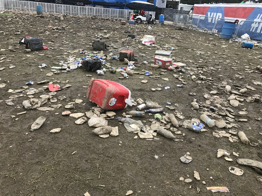 Indy 500 Trash Leads To Money For Charities Groups Theindychannel Com Indianapolis In