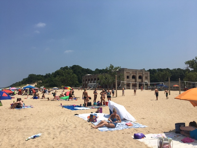 Swimming Beach At Indiana Dunes State Park Reopens Foreign Contamination No Longer Visible