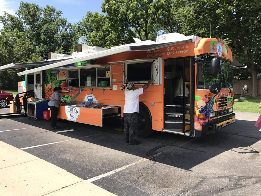 Ips Launches Food Truck To Feed More Students Theindychannel Com Indianapolis In
