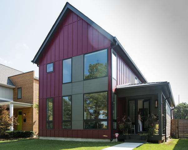 home tour 525k for modern farmhouse luxury on indys near east side