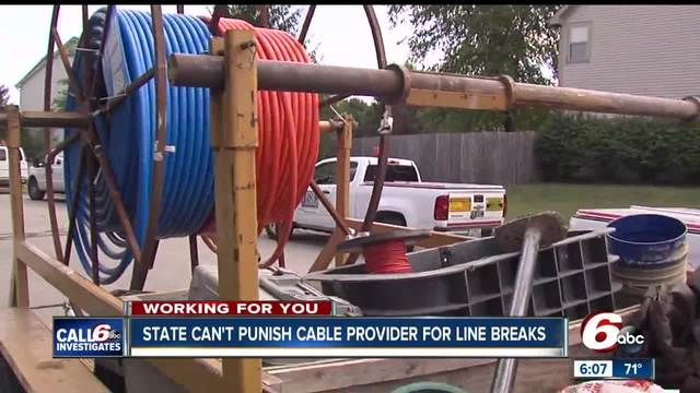 CALL 6: State can\'t fine cable provider over gas line hits ...