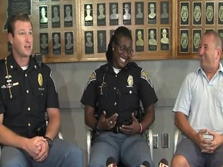ISP troopers, mail carrier save man's life