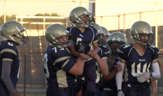 7th grader with cerebral palsy scores touchdown