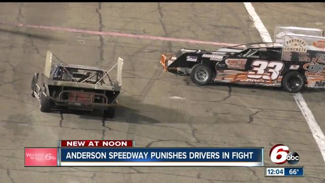 Race car drivers fight leads to banishment, suspension from Anderson Speedway