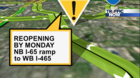 TRAFFIC ALERT: Ramp opens after 150-day closure