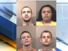 4 arrested in conspiracy to get meth into jail