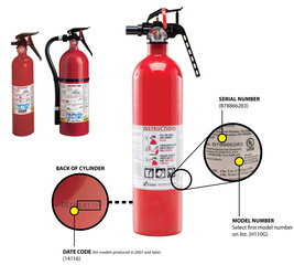 RECALL: 37M fire extinguishers recalled; 1 death