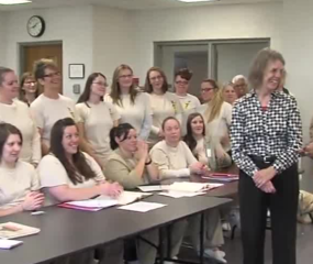 Woman recreates education program at prison