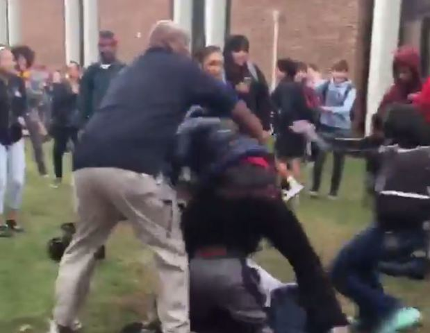 Video shows large fight outside Lawrence North High School ...