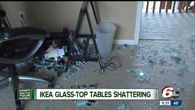 Ikea Glass Tables Are Shattering Spontaneously Theindychannel Com Indianapolis In