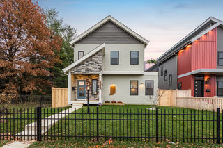 HOME TOUR: New build on College Ave