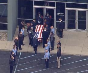 Community honors fallen Greenfield firefighter