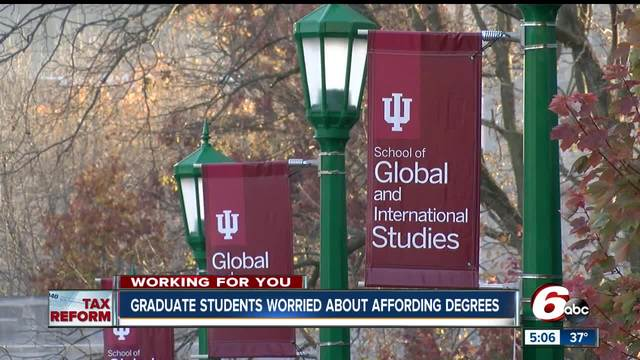 Nebraska graduate students concerned about provision in House tax bill