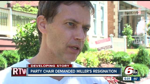 Indianapolis councilman Jeff Miller was serving his second term on…