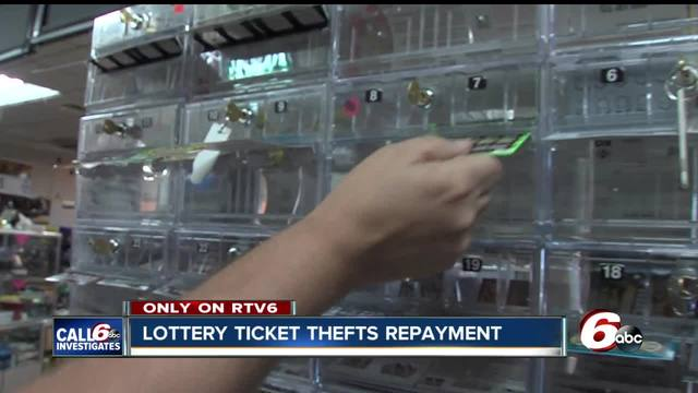 Lottery ticket thief to repay more than -21-000 to Connersville store