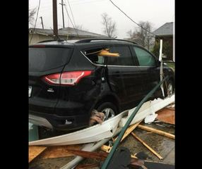 PICS: Clinton Co. storms damage Walmart, homes