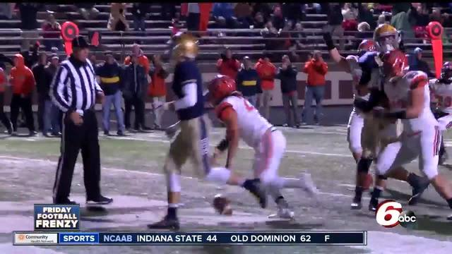 HIGHLIGHTS- Columbus East 42- Cathedral 13