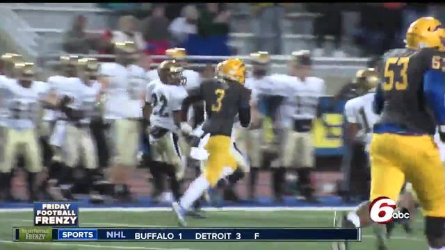HIGHLIGHTS- Penn 34- Carmel 7