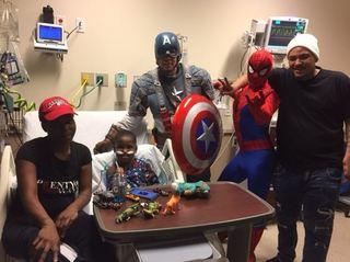 PICS: Superheroes visit kids at Community North