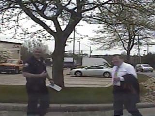 Dash cam audio missing from Carmel mayor's crash