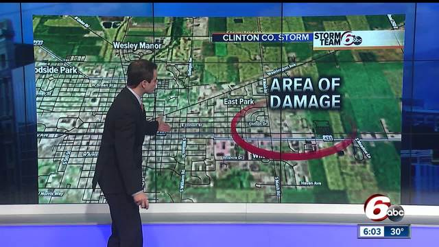 NWS- Straight line winds up to 85 mph caused Frankfort damage