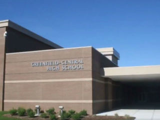 Police at Greenfield High School after threat