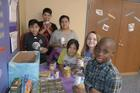 West side students provide meals for families