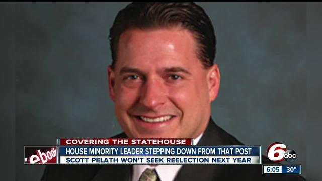 Indiana House Minority Leader Scott Pelath will not seek reelection in 2018