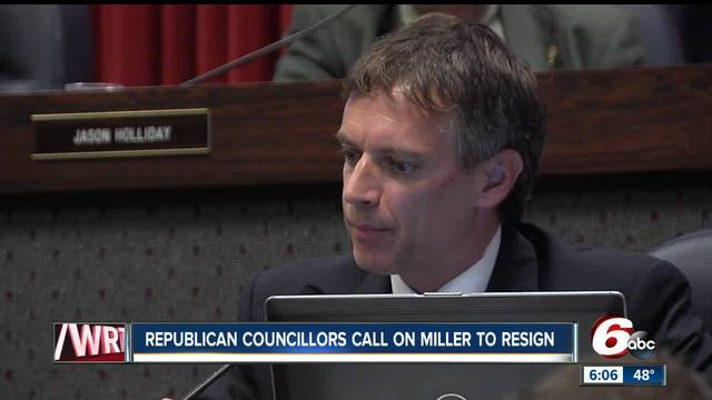 No resignation from City-County Councilman Jeff Miller despite possible…