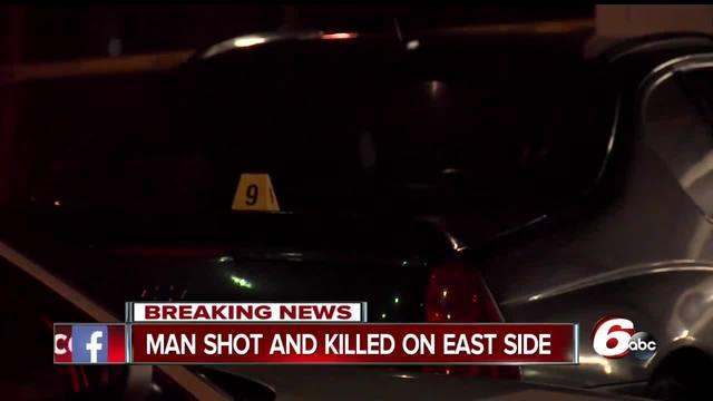 Man shot- killed near Family Dollar on Indianapolis- east side