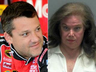 PC: Woman terrorized Tony Stewart, family