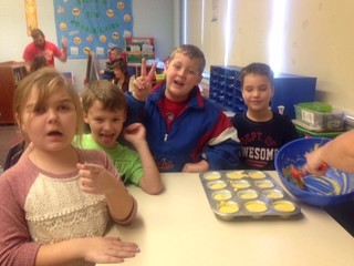 PICS: Thanksgiving dinner at Martinsville school