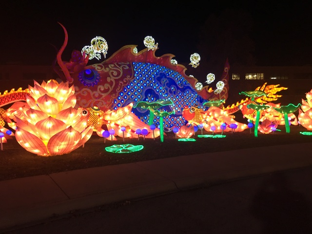 the chinese lantern festival at the indiana state fairgrounds will feature 33 sets of larger than life lantern displays with more than 1000 led lights