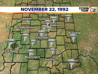 25 years ago: November tornado outbreak