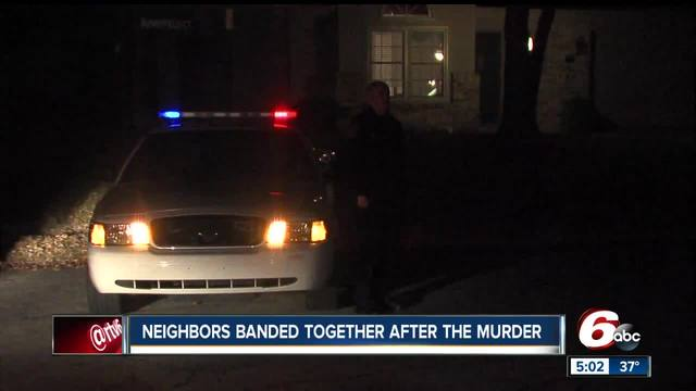 Neighbors continue to band together following murders