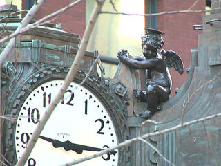 Cherub shows up for 70th year in downtown Indy