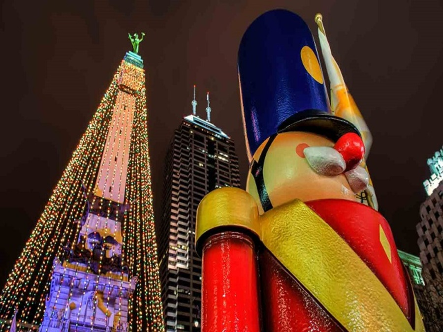 Christmas In Indianapolis.5 Free Holiday Light Displays To See Around Central Indiana