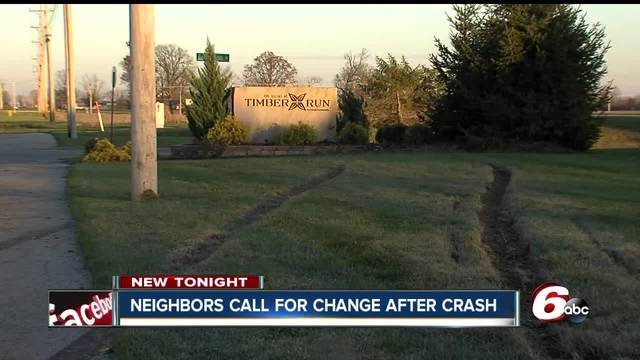 Neighbors call for change after teen crashes in Greenfield