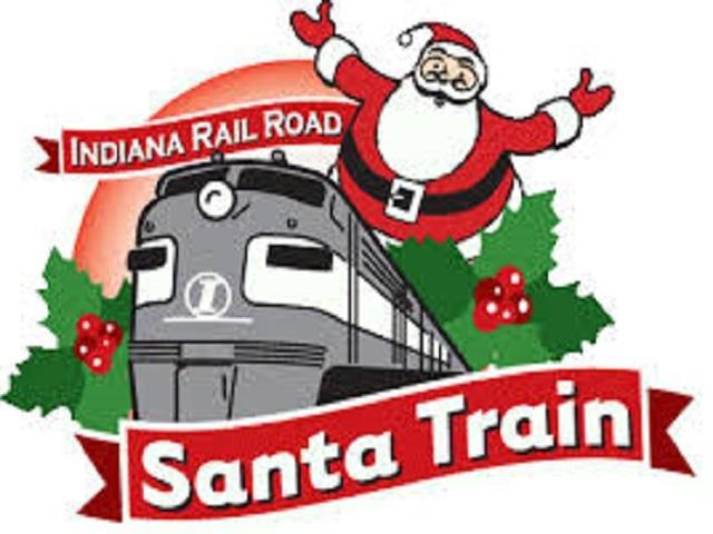 Santa Claus Comes To Morgantown During Train Visit
