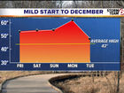 Don't be fooled by the mild start to December